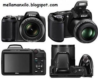 Spesifikasi dan Harga Kamera Nikon Coolpix L320 Murah Terbaru 2014