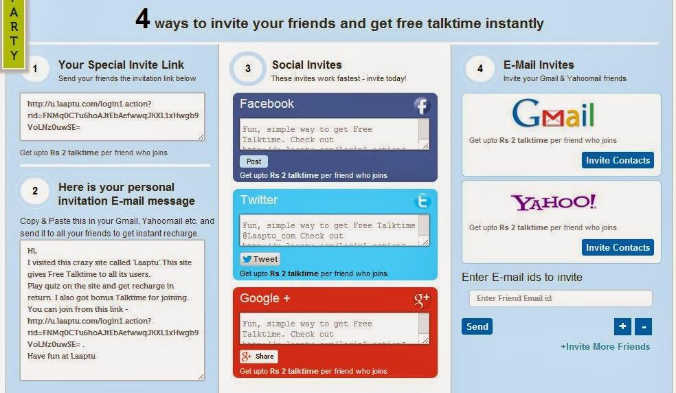 4 ways to invite friends