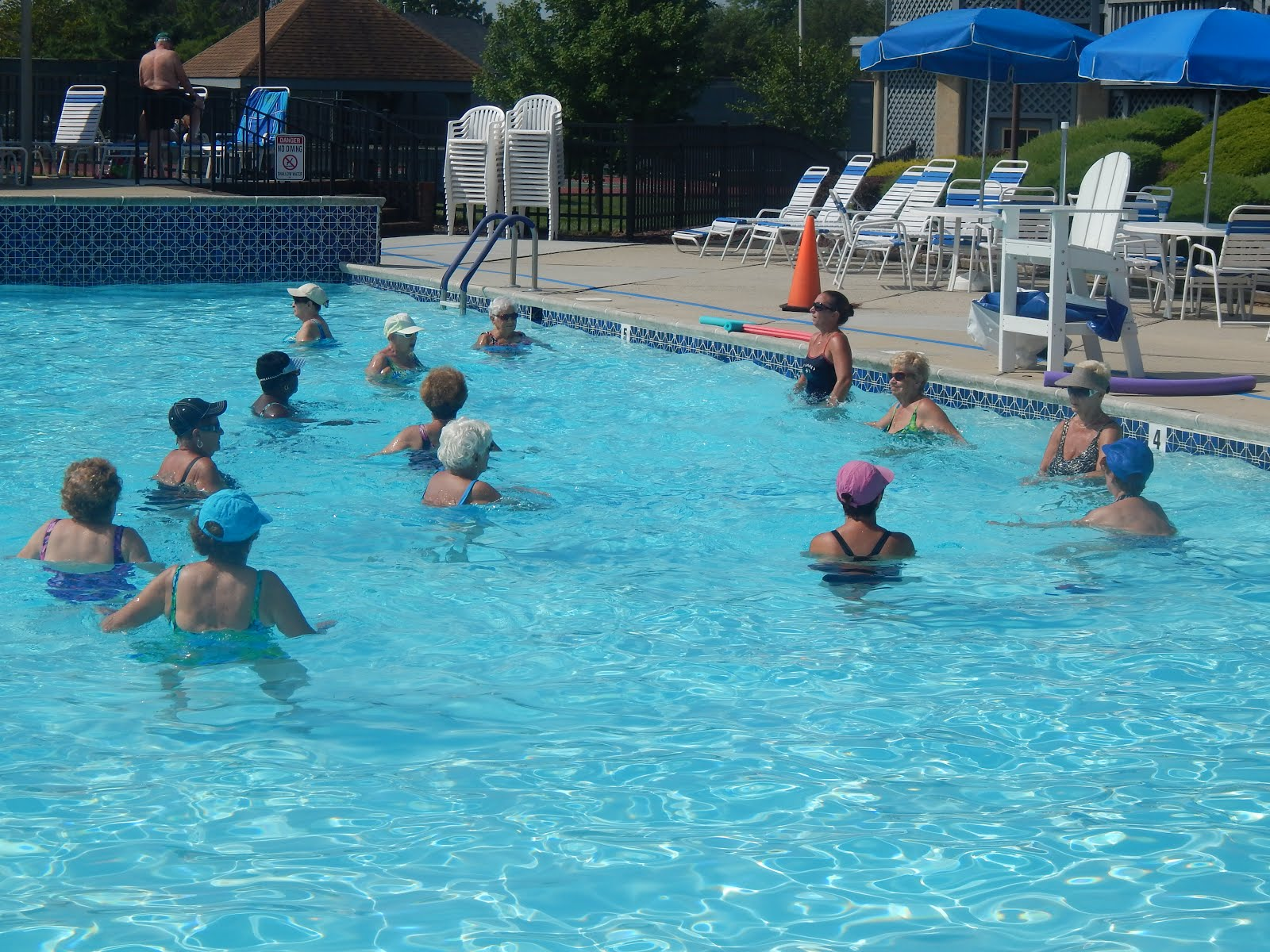 Activity at our Outdoor Pool