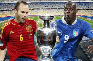 Euro Cup 2012 Final: Spain vs Italy
