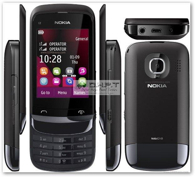 Harga dan Spesifikasi Nokia C2-03