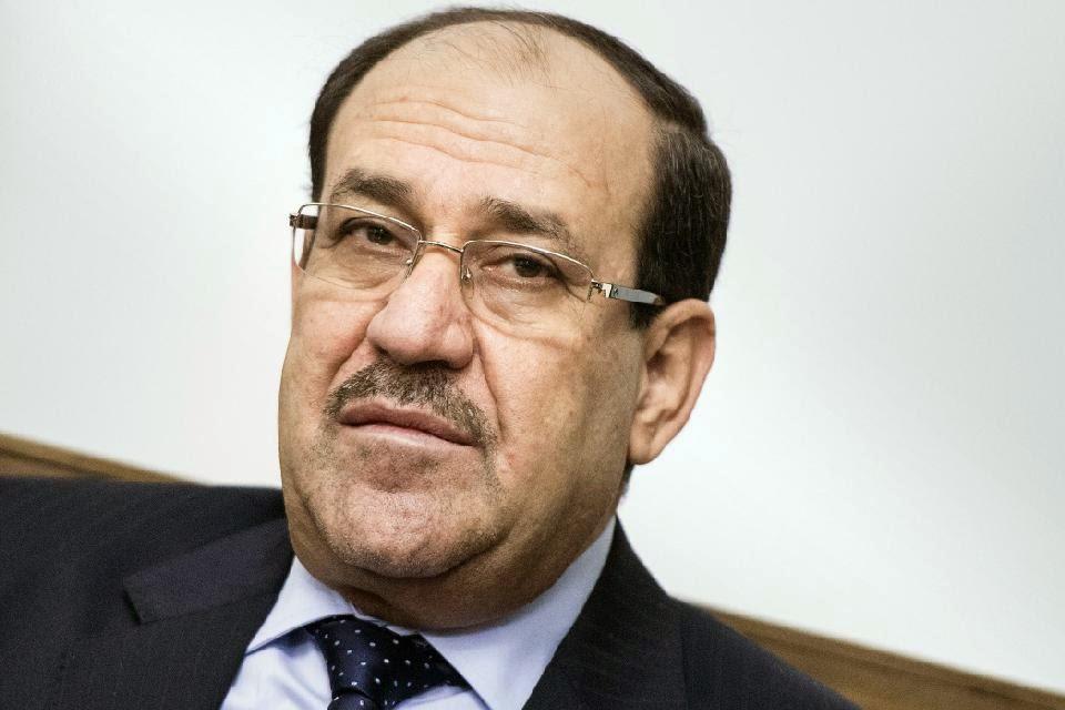 Iraq PM: al-Maliki