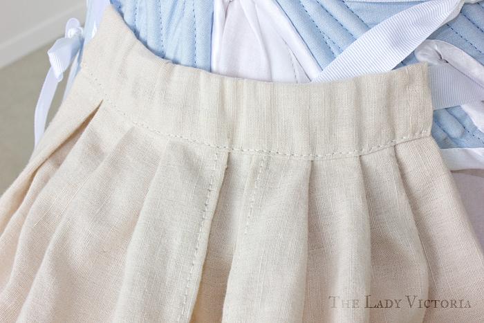 panier stitching hand sewn