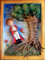 EL Principito y El Baobab
