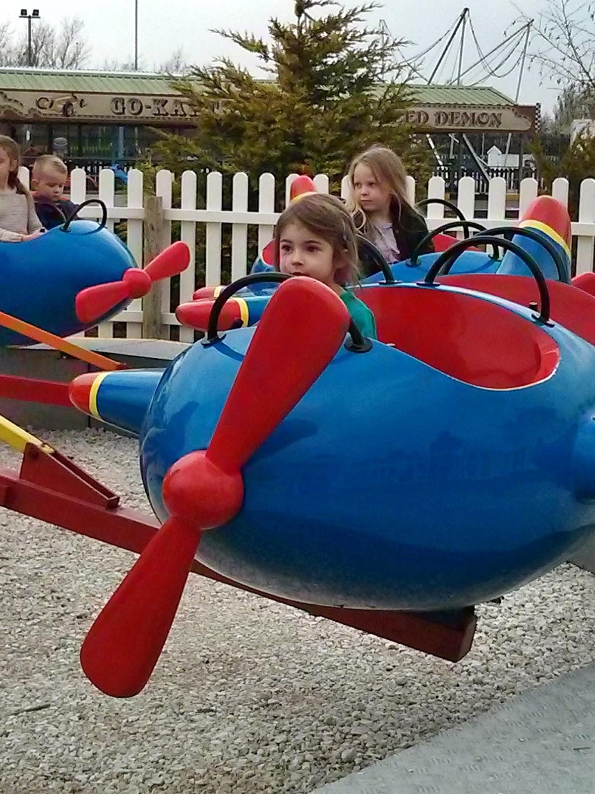Fairground plane