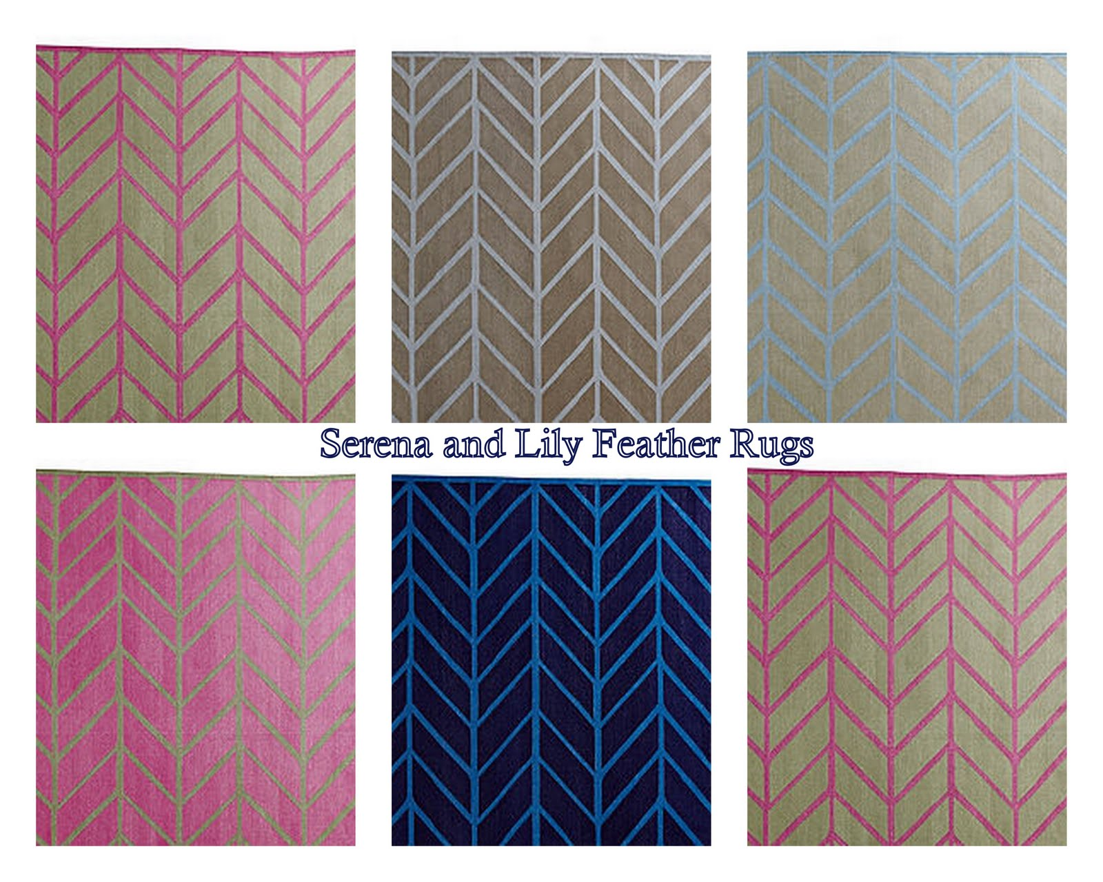 Picket Fence Design Feather Rugs
