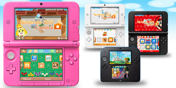 Nintendo 3DS Update in October comes with New Skins
