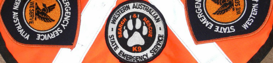 Search and Rescue Dogs Western Australian SES