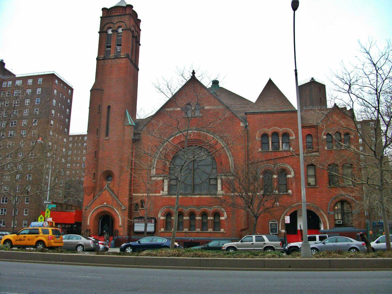 Misa gospel en Harlem, Nueva York