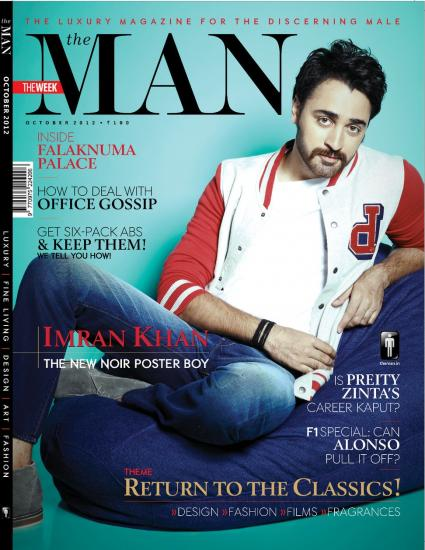 Imran Khan Photo - Cover Of The Man [October 2012]