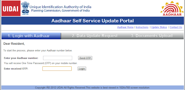 How To Update Your Aadhaar Details Online 3
