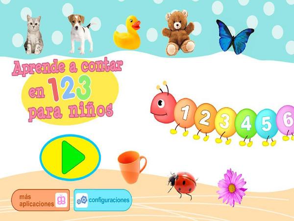 App Aprende a contar 123