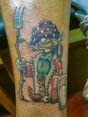 Little Elf Color Tattoo