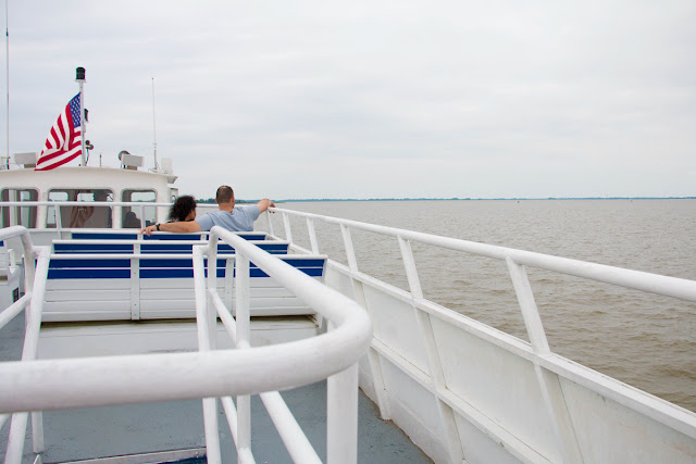 Ferry to Pea Patch Island, Fort Delaware