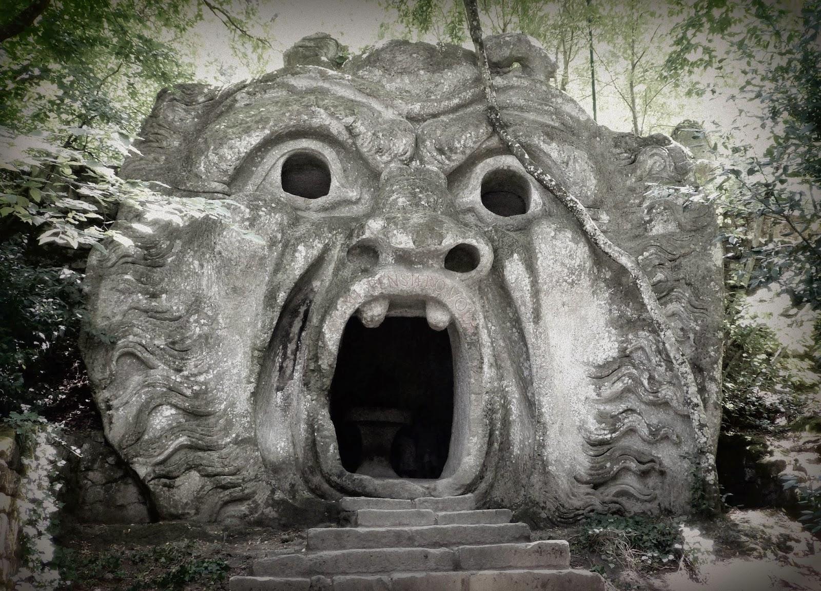 Le Bosco Sacro de Bomarzo : mystérieux, extravagant, inpressionnant