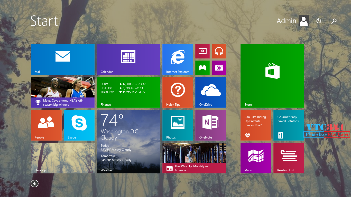 }Ghost Windows 8.1 Update 1 [64bit][FullSoft] - Nature Vintage