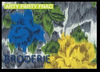 Arty Party Fnac Ternes Paris 17ème atelier broderie papeterie 27 avril