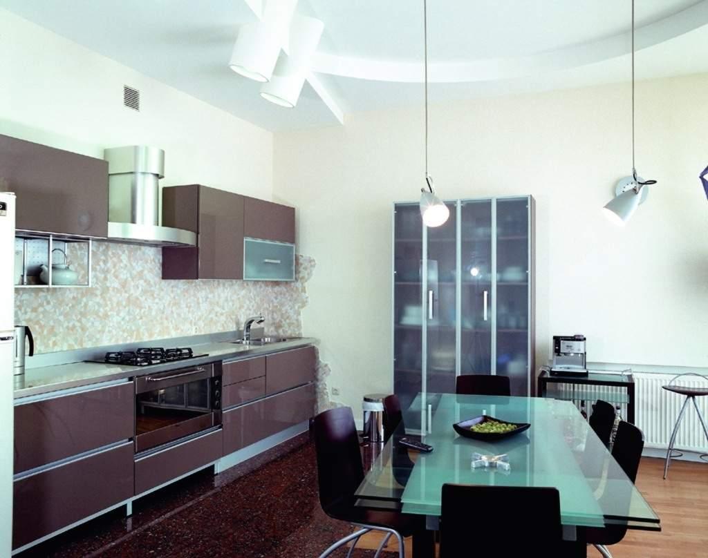 Stylish modern wallpaper kitchen design ideas for Best kitchen designs 2011