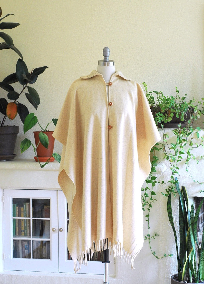 1970s cape #vintage #cape
