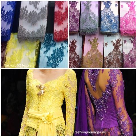 Miss Tea s Wedding-Prep Blog  Bahan-bahan Kebaya 2b50529fdd