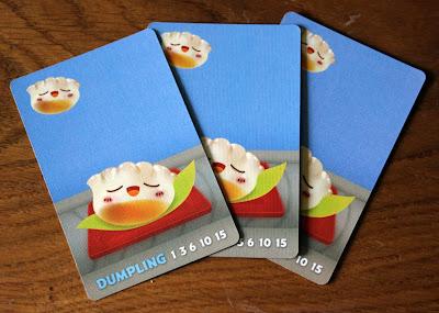 Sushi Go - dumpling cards | Random Nerdery