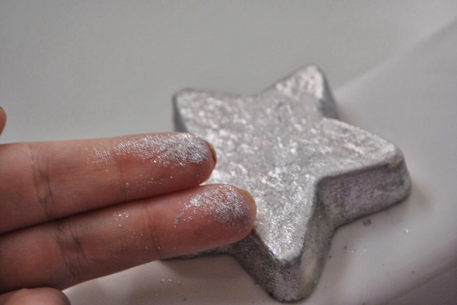 silver bath bomb