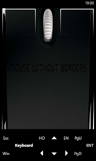 Microsoft Garage Mouse without Borders - Windows Phone滑鼠操控畫面