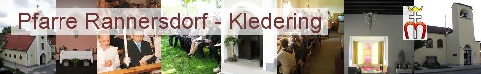 Pfarre Rannersdorf - Kledering - Aus dem Leben der Pfarrgemeinden