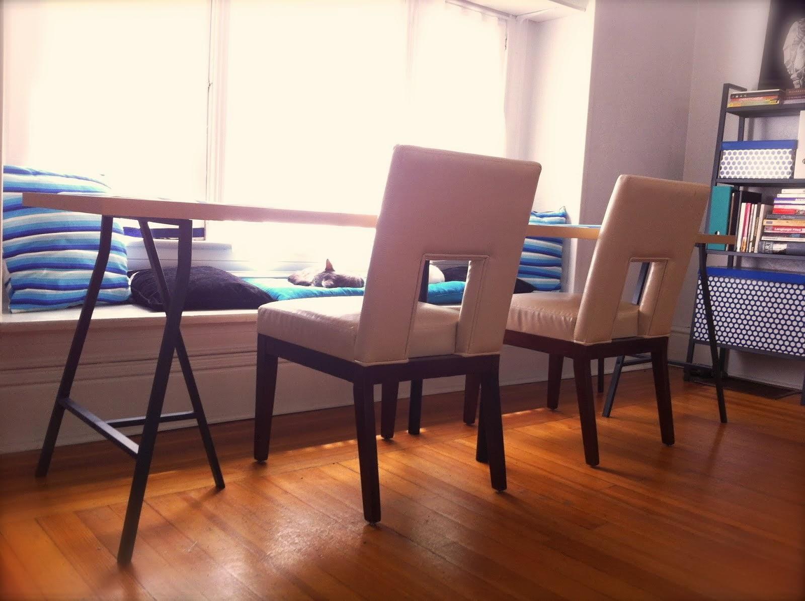 LINNMON And LERBERG, A Long And Narrow Dining Table