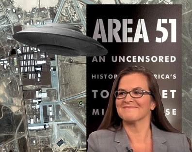 Annie Jacobsen, Area 51 and UFOs