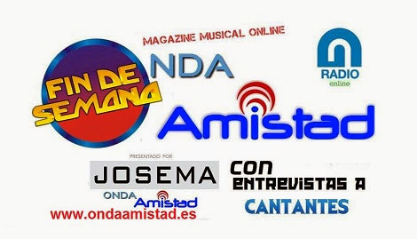 """""""FIN DE SEMANA""""(MAGAZINE MUSICAL SEMANAL CON ENTREVISTAS)"""