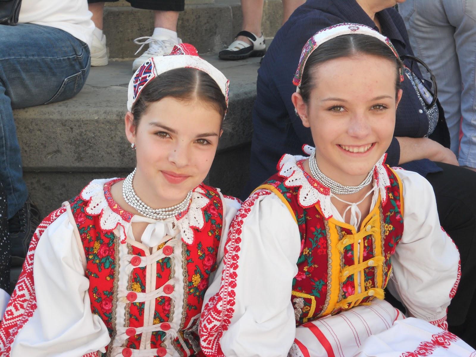 Словацкие девушки