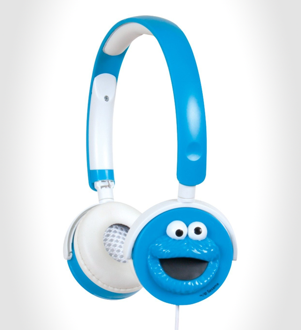 Sesame Street Cookie Monster Headphones