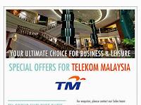Special Promotion For TM Staff at Eastin Hotel, Petaling Jaya