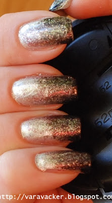 naglar, nails, nagellack, nail polish, nyår, new year manicure
