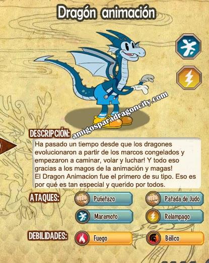 imagen de las caracteristicas del dragon animacion