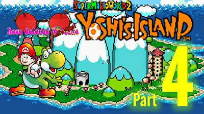 Yoshi's Island was released on the Super Nintendo in 1995