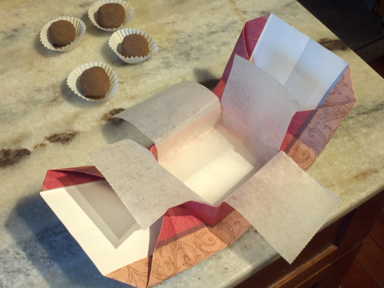 the gay agenda origami chocolate gift box