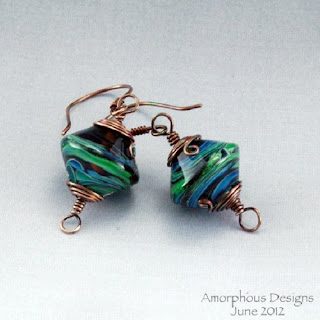 Aurora Earrings               By AmorphousDesigns