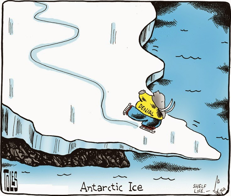 Tom Toles: Antarctic Ice.