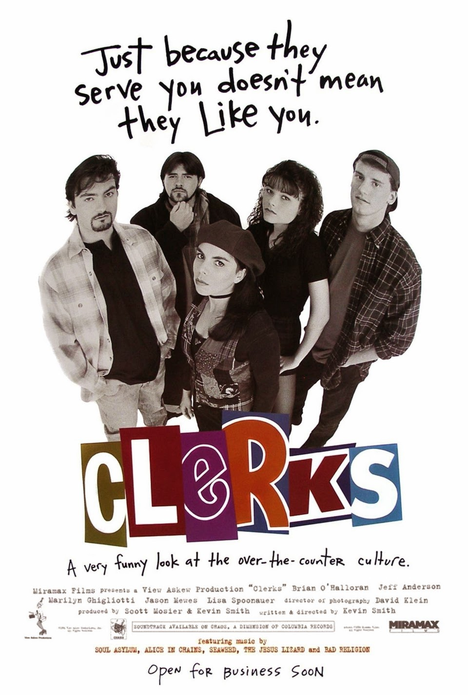 Portada Clerks Kevin Smith