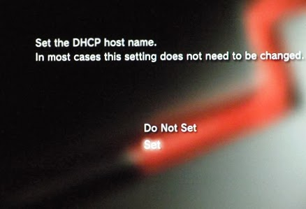 Konsola PS3 - DHCP host name