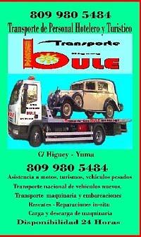 Transporte Bule Higuey