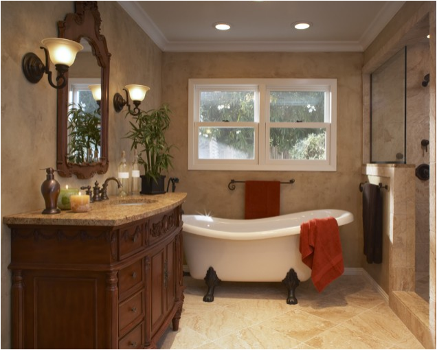 Traditional bathroom design ideas room design ideas for Toilet decor pictures
