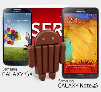 Update KitKat Segera Hampiri Galaxy Note 3 & Galaxy S4