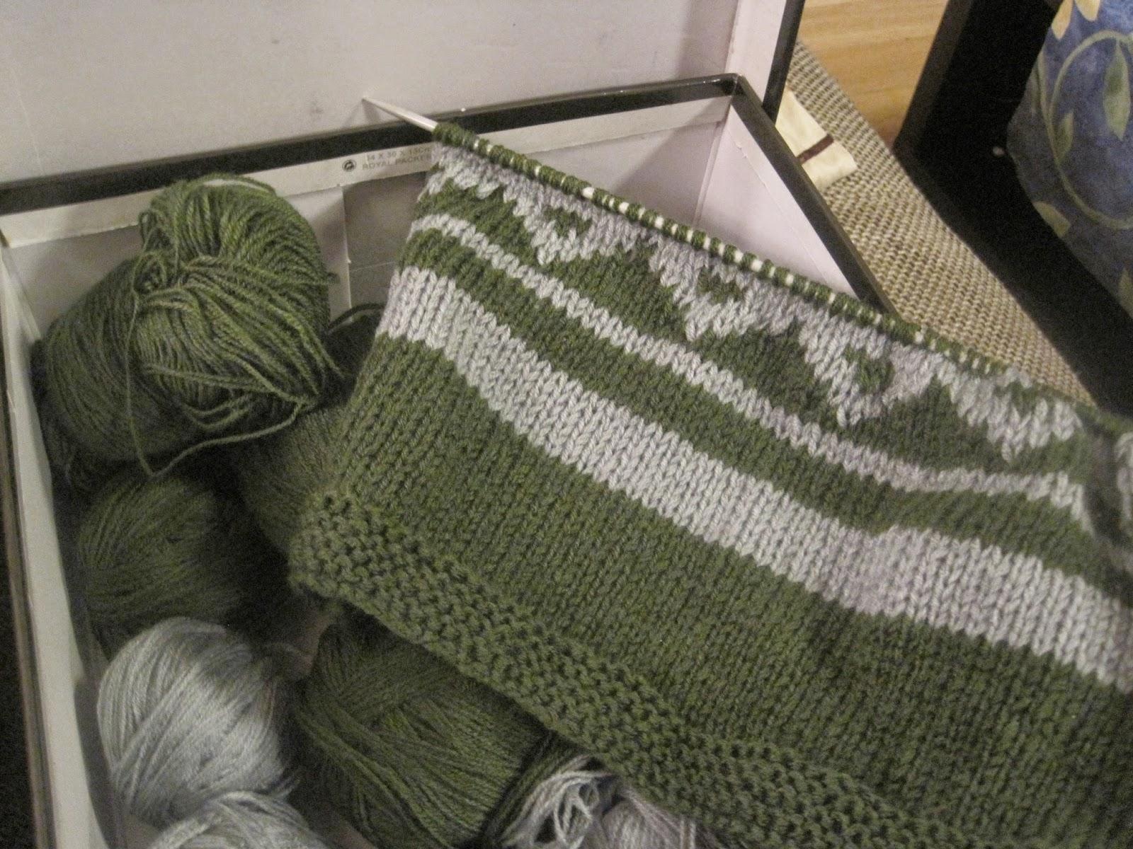 jak poradzić sobie z wieloma nitkami w robótce na drutach