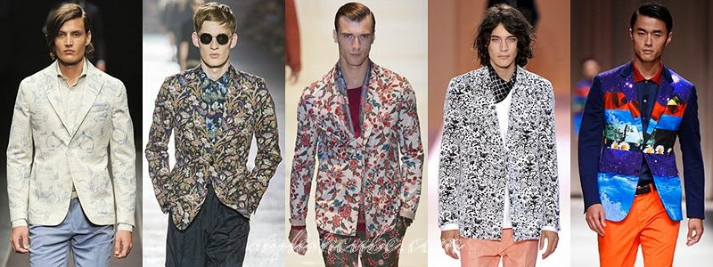 Spring 2014 Men's Jackets Fashion Trends