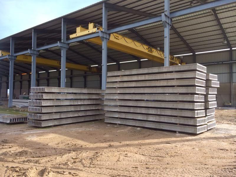 Fabrica de muros prefabricados hormig n prefabricados for Tejados prefabricados