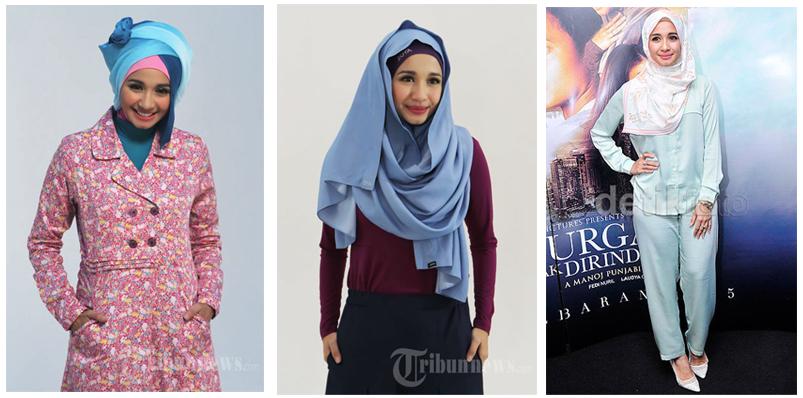 8 Inspirasi Model Busana Muslim Dan Hijab Dari Para Artis