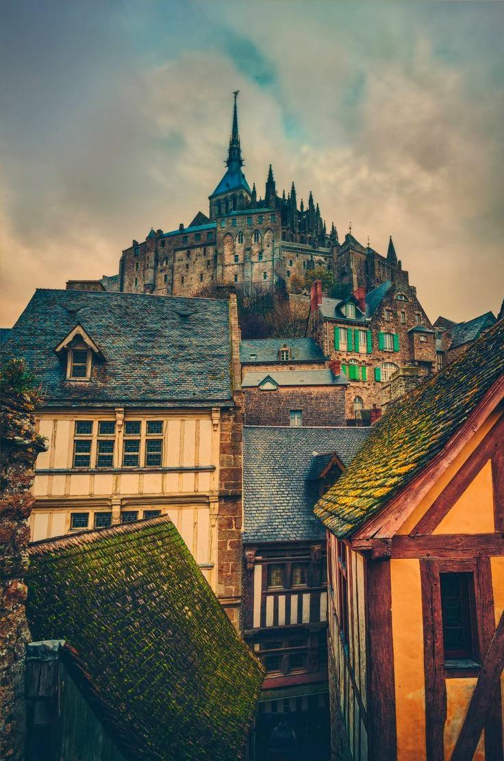 Medieval, Mont-Saint-Michel, Normandy